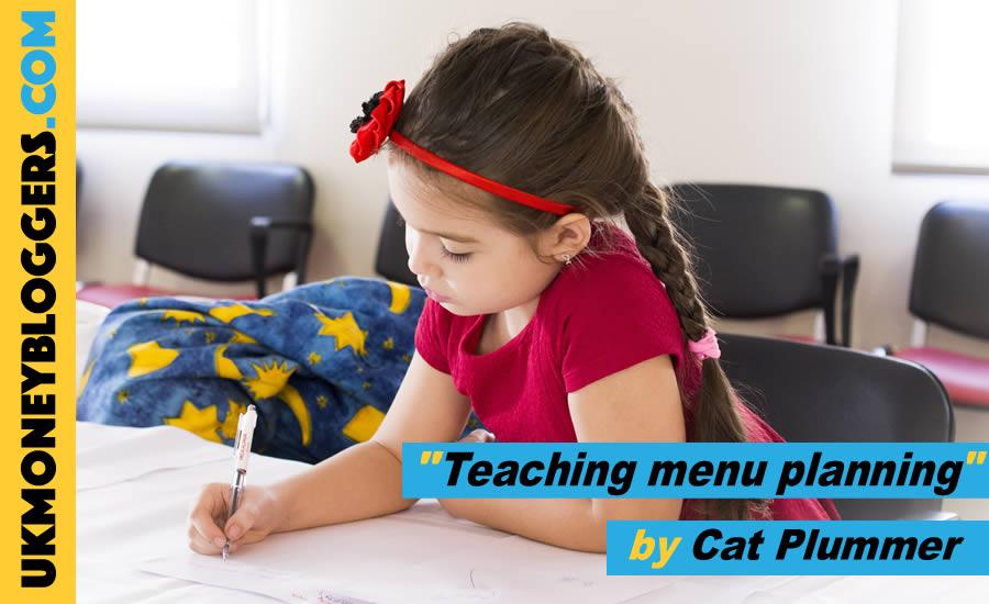 Loose change - teaching menu planning in schools by Cat Plummer