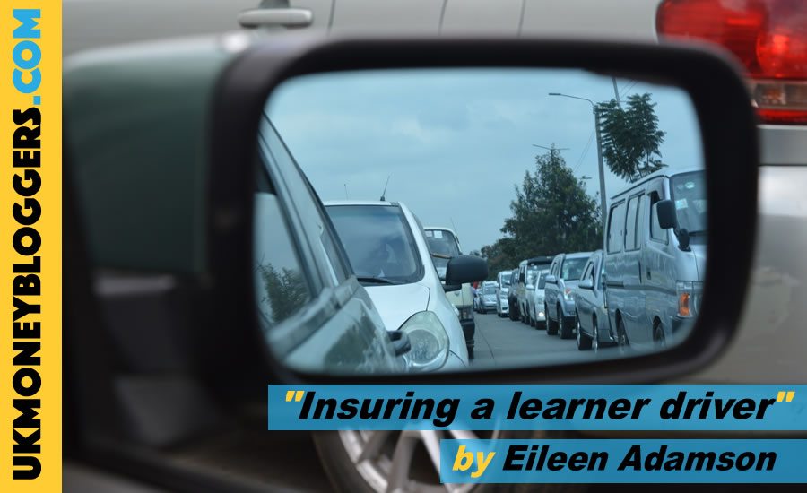 Loose Change - it can be very expensive to add your ttenage learner driver to your car insurance by Eileen Adamson