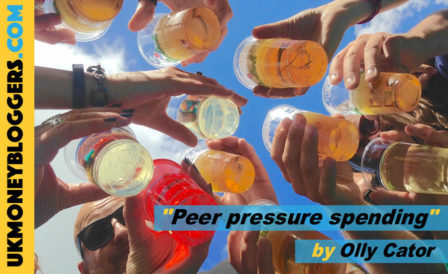 too many celebrations? Get peer pressure spending under control by Olly Cator