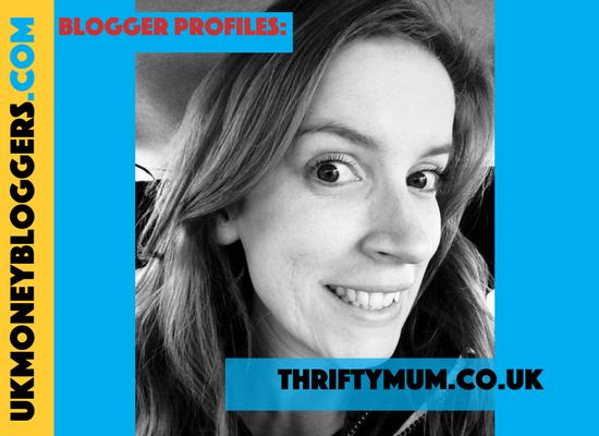 UK Money Blogger Alison from Thriftymum.co.uk