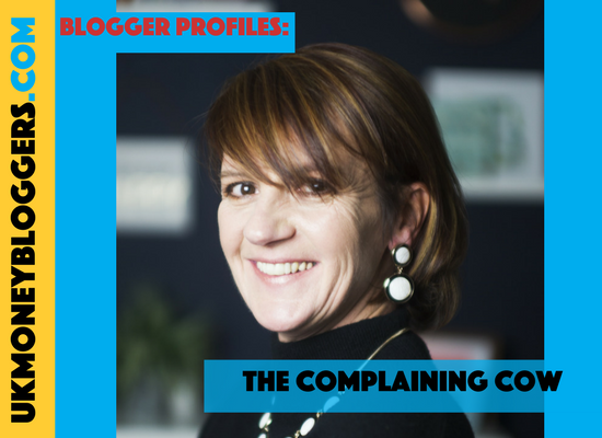 UK money blogger The Complaining Cow